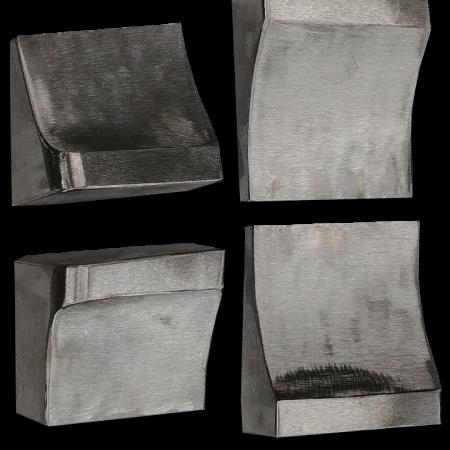 914-6 GT Steel Flared Rocker Ends